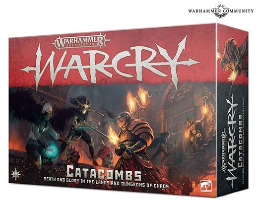Portada de Warcry Catacombs