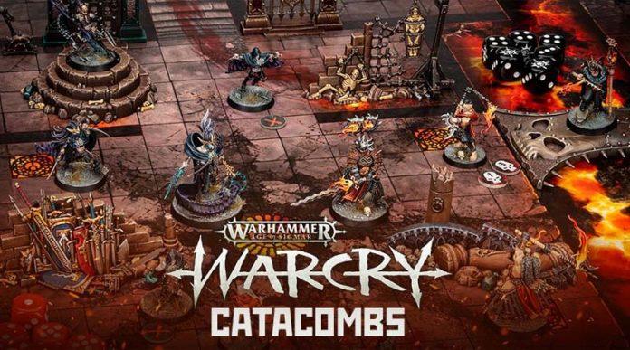 Partida de Warcry Catacombs