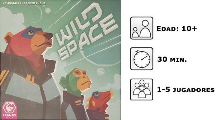 Datos del juego de mesa Wild Space