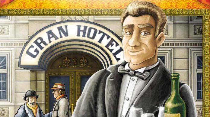 Detalle de la portada de Gran Hotel Austria
