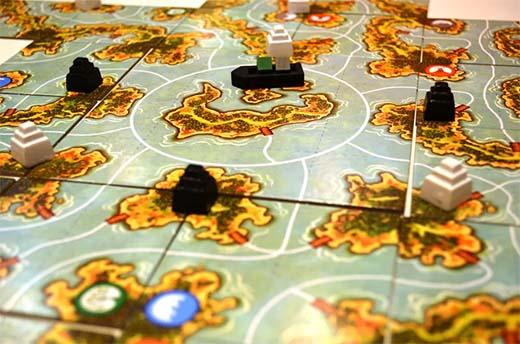Detalle de una partida de Akrotiri