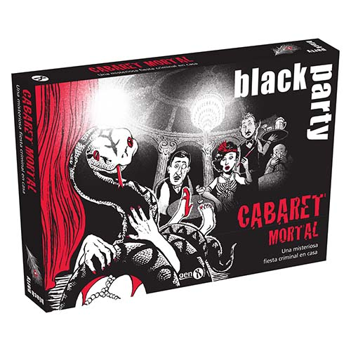 Portada de Black Party. Cabaret Mortal