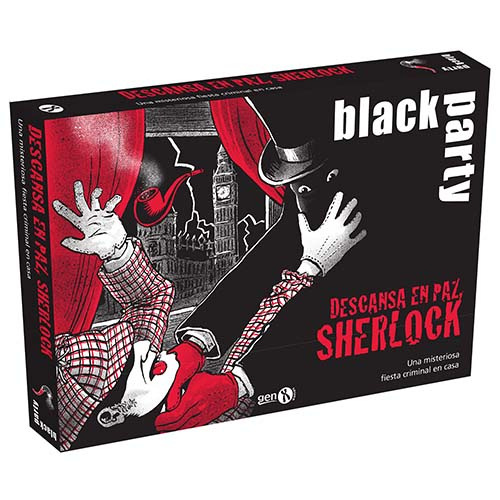 Portada de Black Party. Descansa en paz, Sherlock