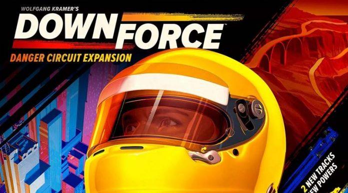 Fragmento de la portada de la expansión downforce danger circuit