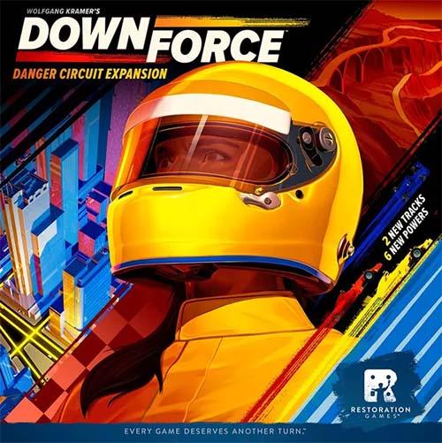 portada de la expansión downforce danger circuit