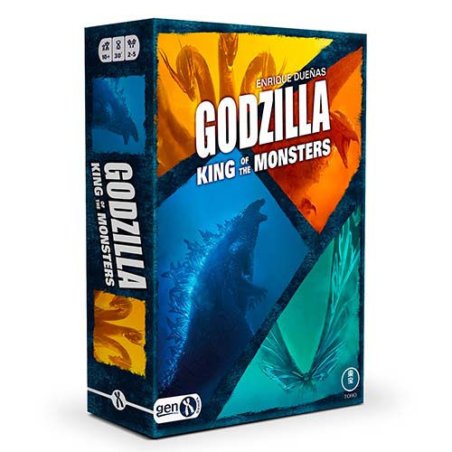 Portada de Godzilla Kings of the Monsters