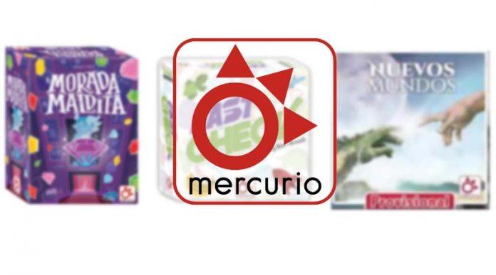 Nuevos juegos de Mercurio Distribuciones