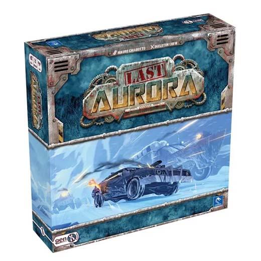 Portada de Last Aurora