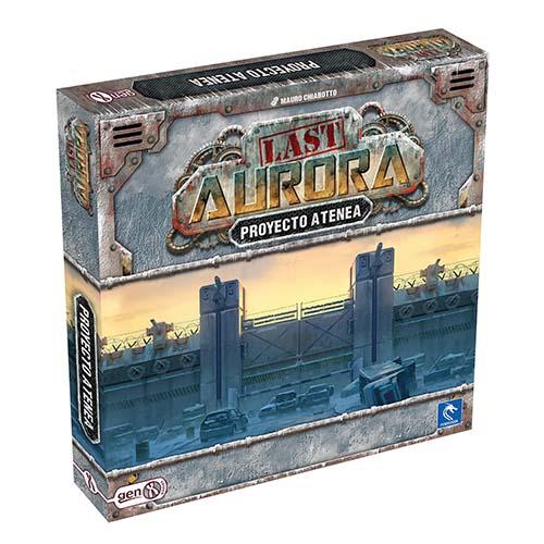 Portada de Proyecto Atenea (expansión de Last Aurora)