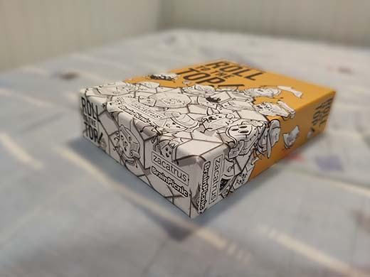 Caja de Roll to the top