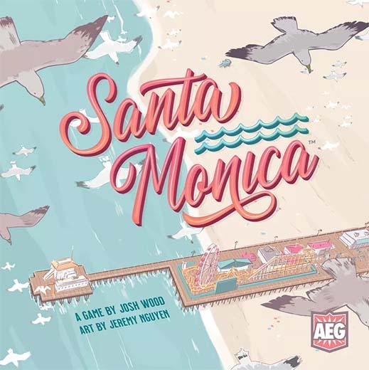 Portada del juego de tablero Santa Mónica