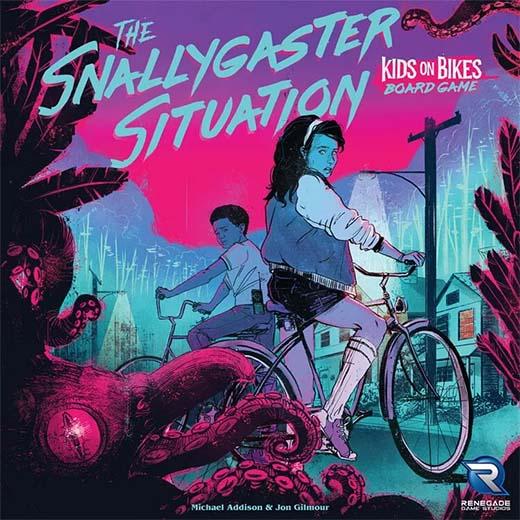 Portada de Snallygaster Situation el juego de mesa de kids on bikes