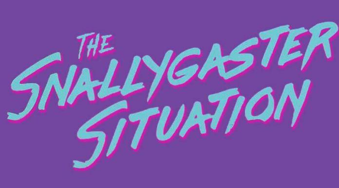 Logotipo de Snallygaster Situation el juego de tablero de Kids on Bikes