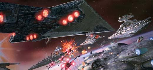 Arte conceptual de Star Wars Armada