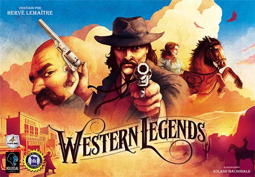 Portada de western legends