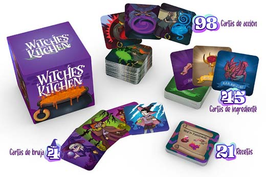 Componentes de Witches Kitchen