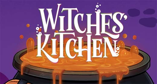 Portada del juego Witches Kitchen