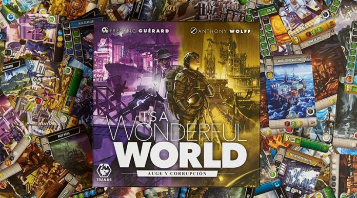 It's a Wonderful World: Auge y Corrupción por Tranjis Games