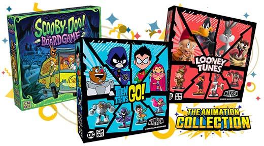 Los títulos de The animation collection