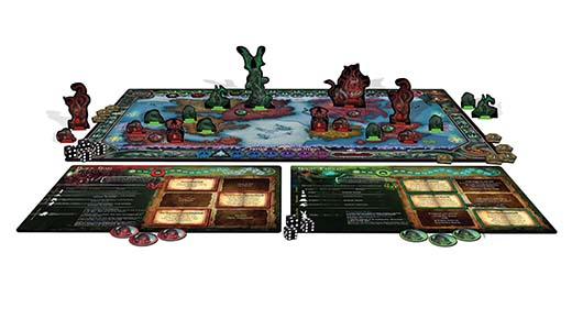 Cthulhu Wars Duel componentes