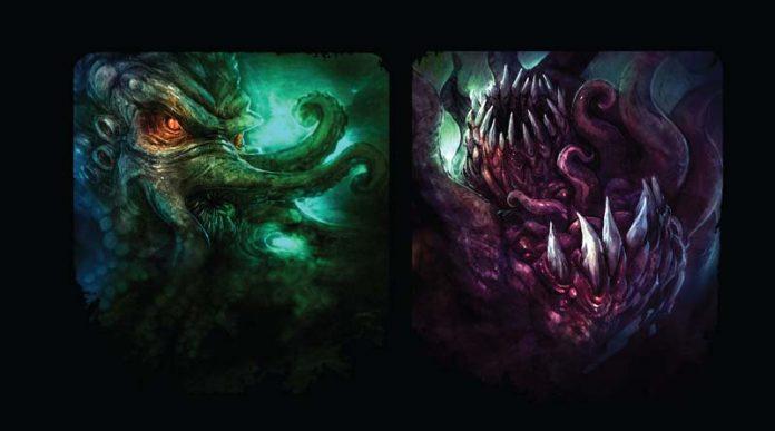 Cthulhu Wars Duel detalle de la portada