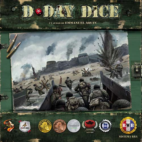Portada de D-Day Dice