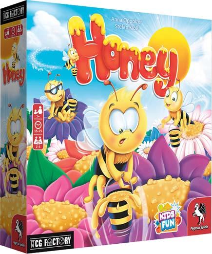 Portada de Honey