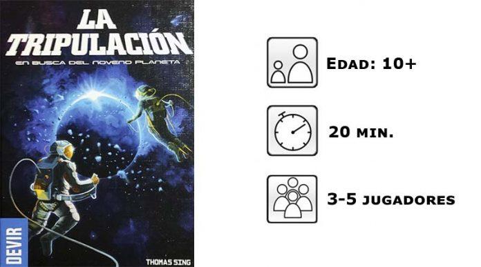 Datos de la Tripulación, en busca del noveno planeta