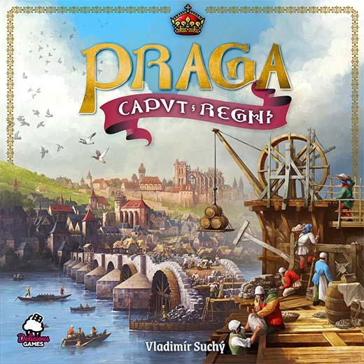 Portada del juego de tablero Praga Caput Regni