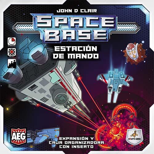 Portada de la expansion de space base estacion de mando
