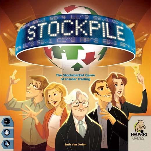 Portada del juego de mesa Stockpile