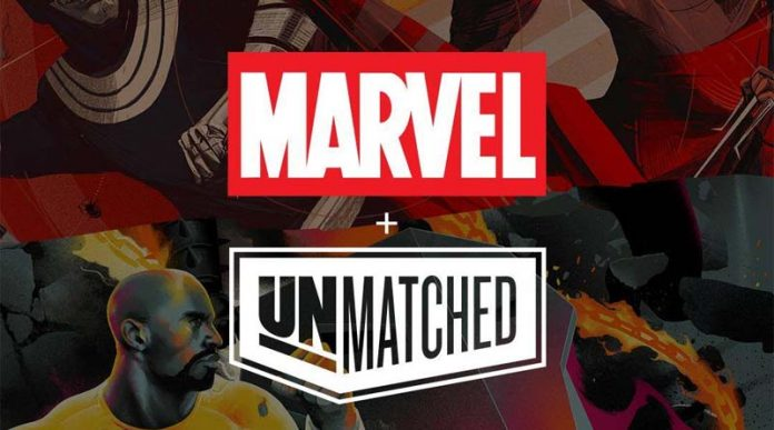 Logotipo de Unmatched Marvel