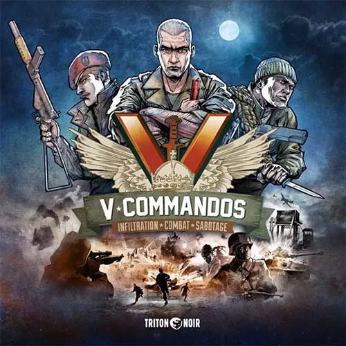 Portada de V-Commandos