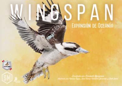 Portada de la expansión de wingspan Oceanía