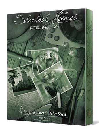 Portada de Sherlock Holmes Detective Asesor: Los irregulares de Baker Street