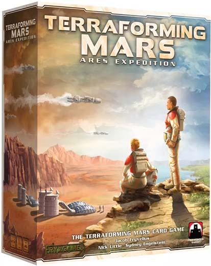 Portada de Terraforming Mars Ares Expedition