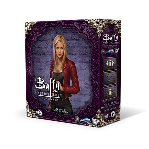 Portada en castellano de Buffy Cazavampiros el juego de mesa