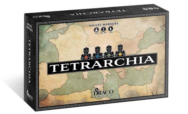 Caja del juego TETRARCHIA