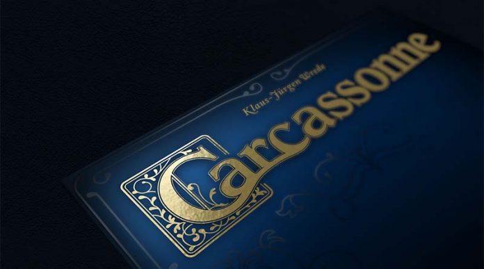 Portada de Carcassonne Edición 20 Aniversario