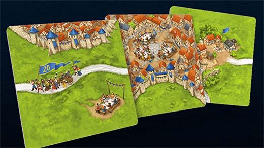 Losetas de Carcassonne Edición 20 Aniversario