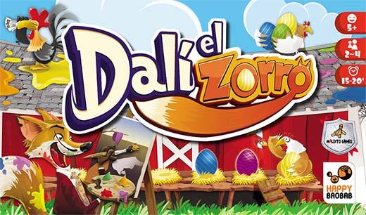 Portada de Dalí el zorro