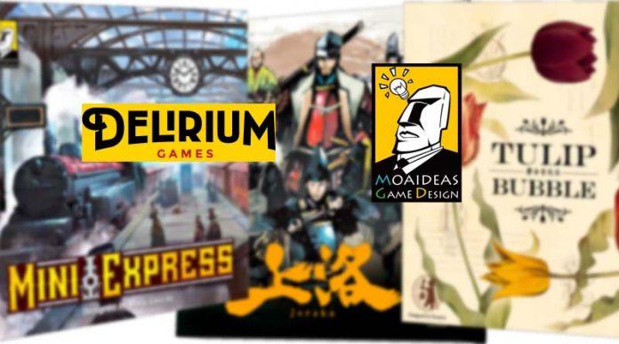 Juegos de Moaideas que publicará Delirium en castellano