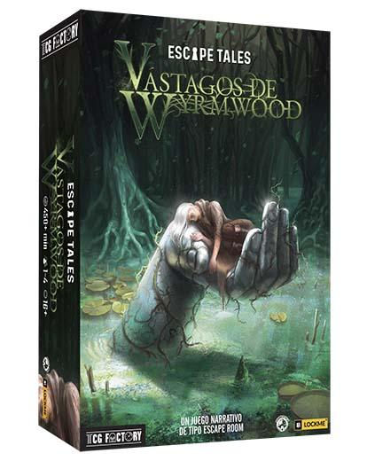Portada de Escape Tales Vçástagos del Wyrm