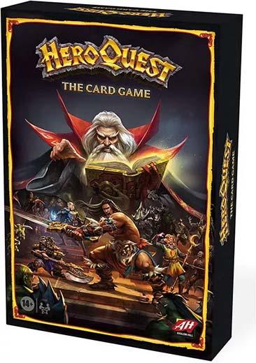 Portada de Heroquest el juego de cartas