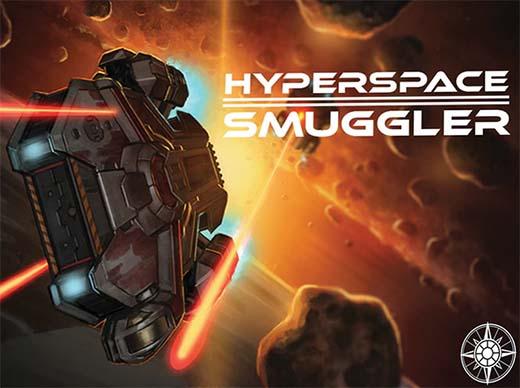 Portada de Hyperspace Smuggler, juego en el que se basa Ahoy