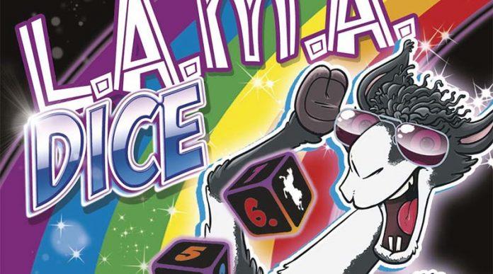 Detalle de la portada de Lama Dice