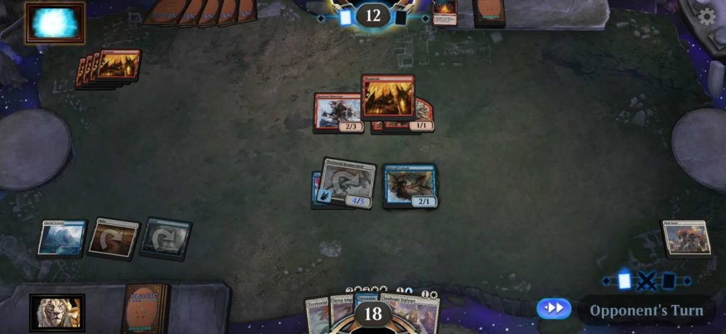 Partida Magic: The Gathering Arena