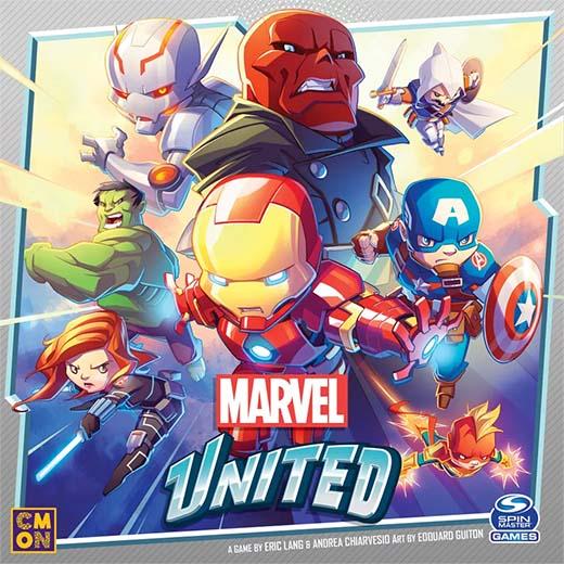Portada de Marvel United