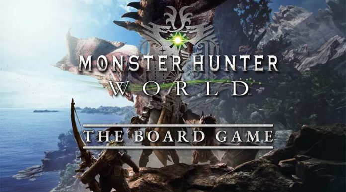 Logotipo de Monster Hunter World the boardgame