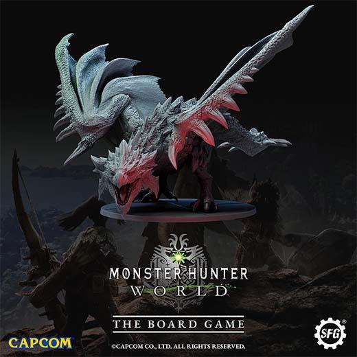 Miniatura de monstruo de Monster Hunter World the boardgame